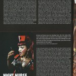 Night Nurse in media and press